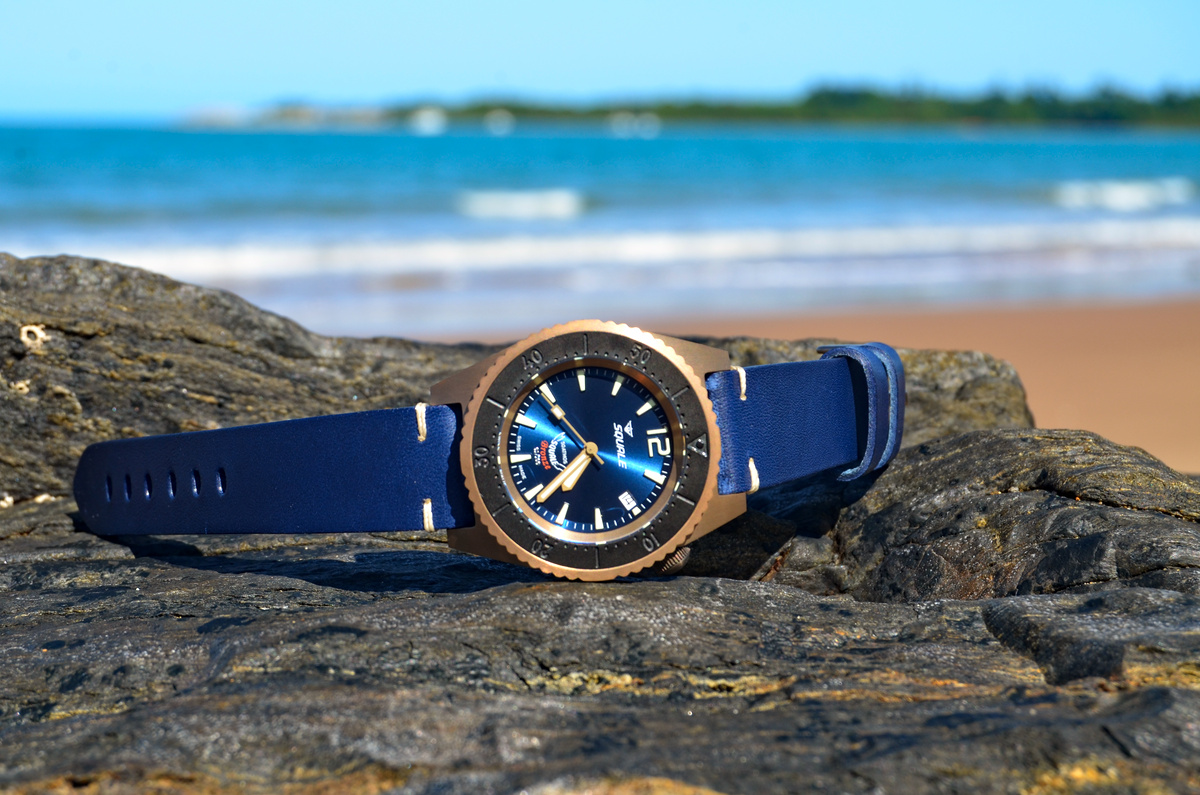 Squale 1521 Bronze Blue 50 atmos Limited Edition