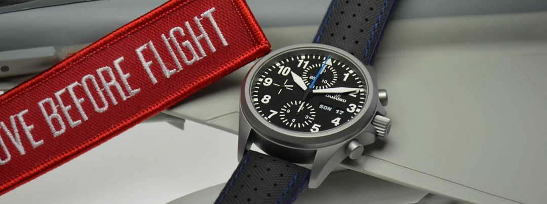 Damasko Chronograph DC5X Pilot Watches