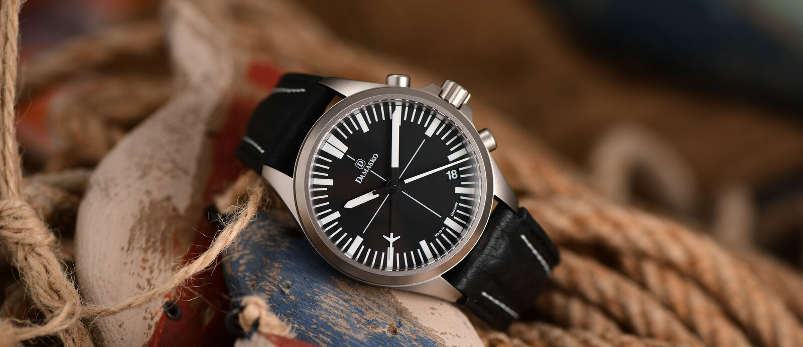 Damasko Chronograph DC7X Pilot Watches