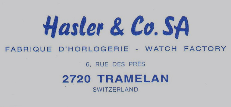 Davosa - Hasler & Co.