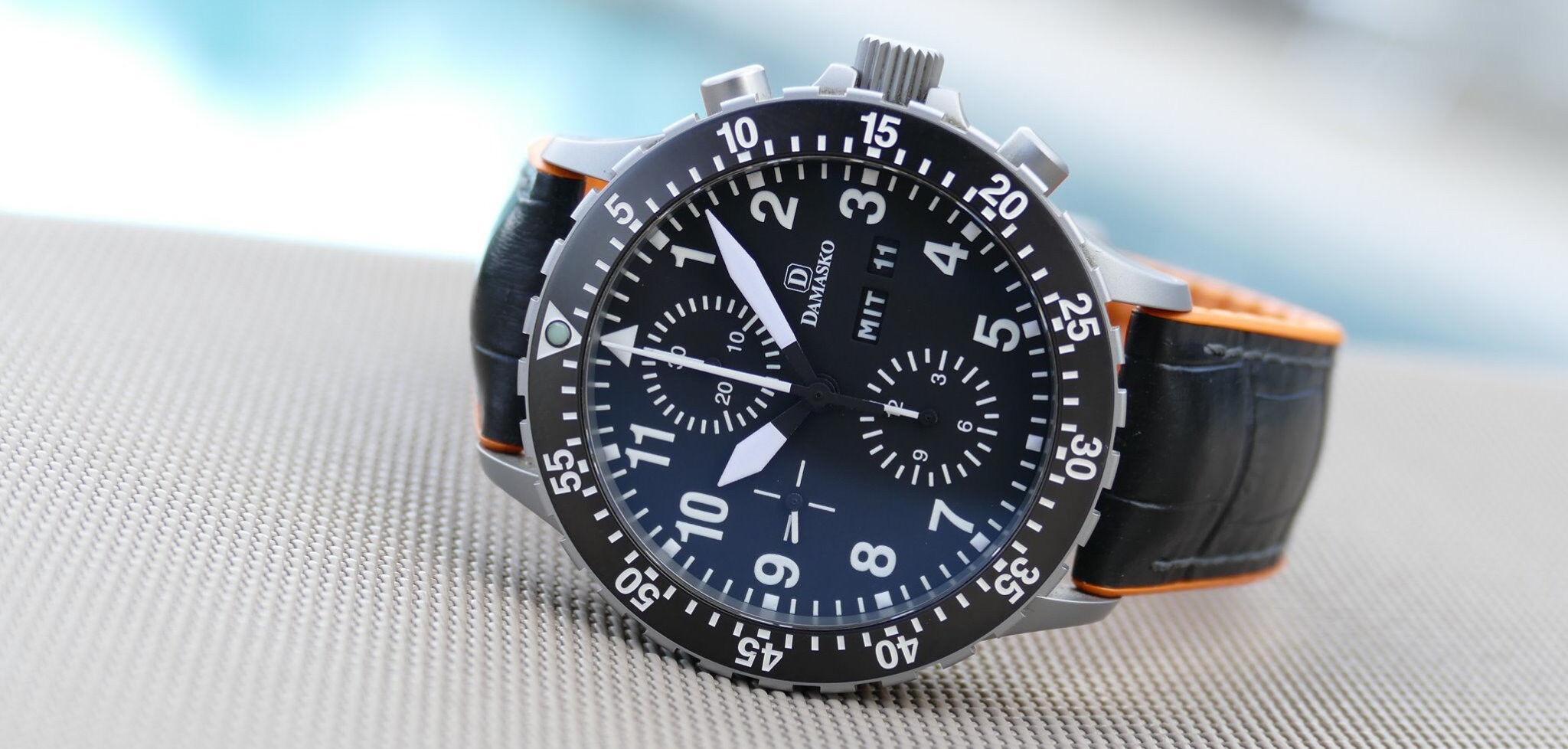 Damasko Chronograph DC6X Pilot Watches