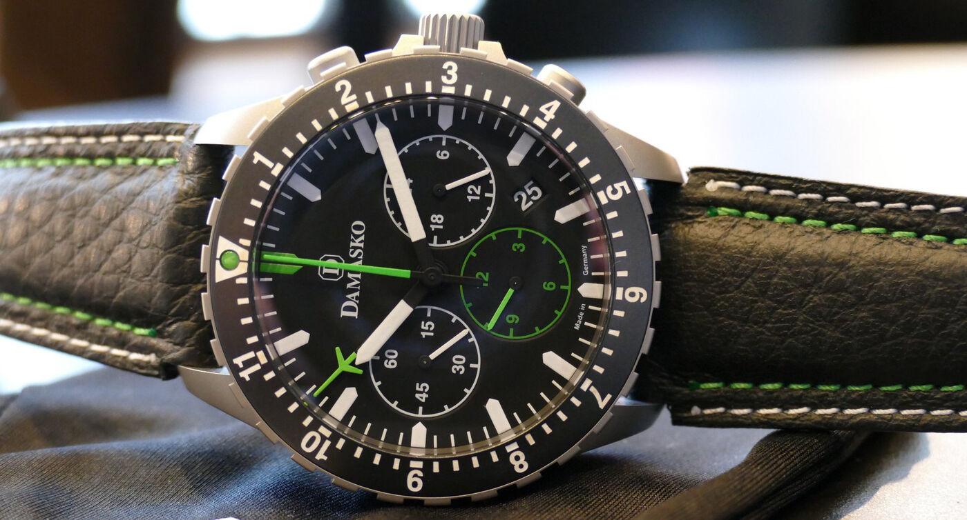 Damasko Chronograph DC8X Pilot Watches