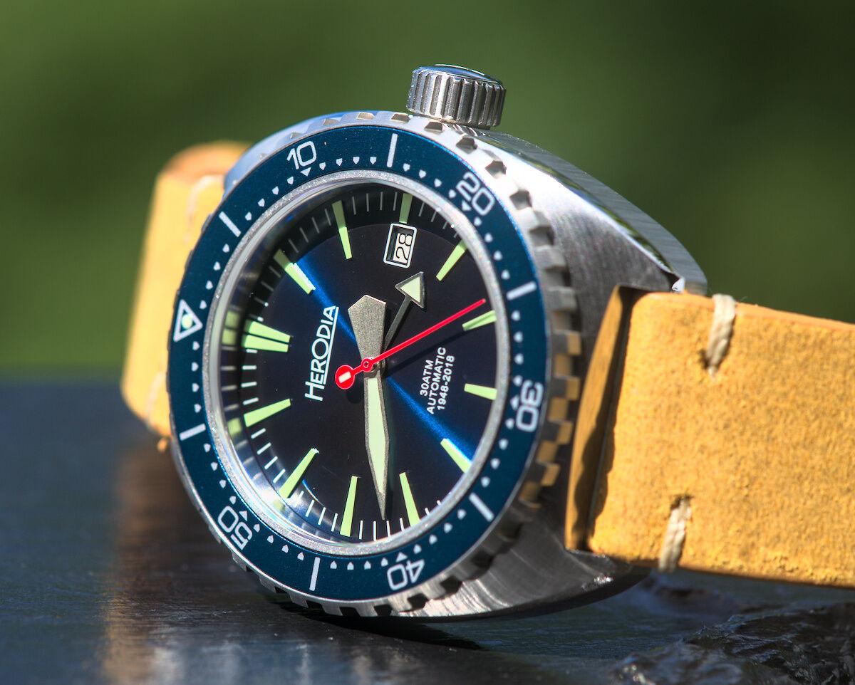 Herodia Series 1 Deep Blue Dive Watch