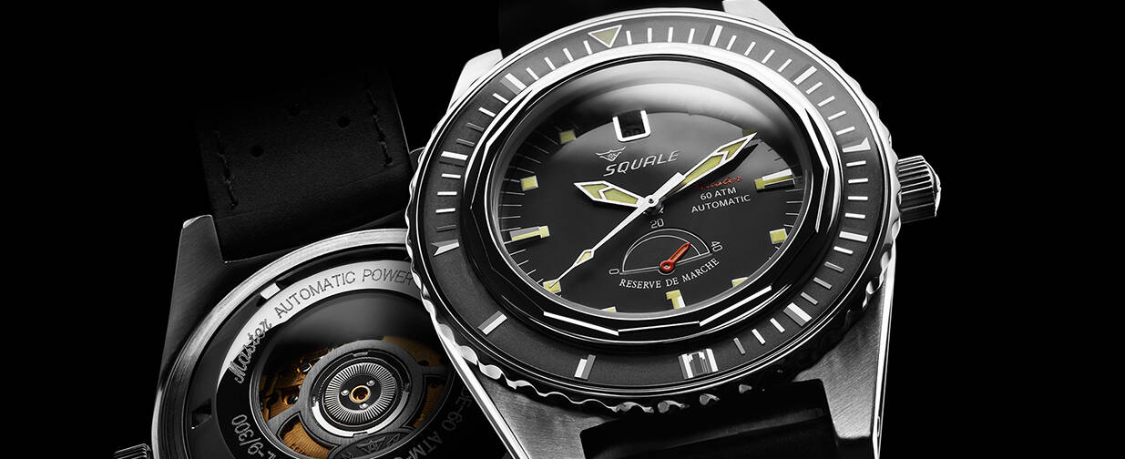 Squale Master Professional Dive Watch