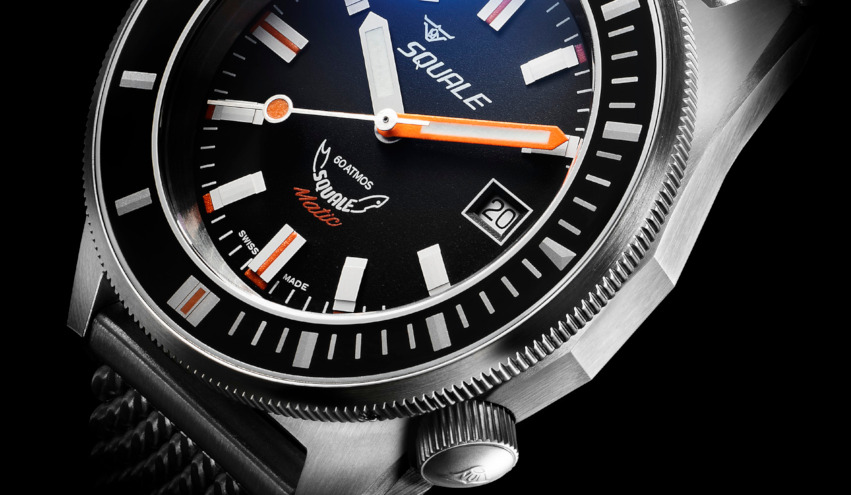 Squale 60 atmos Squalematic Dive Watch