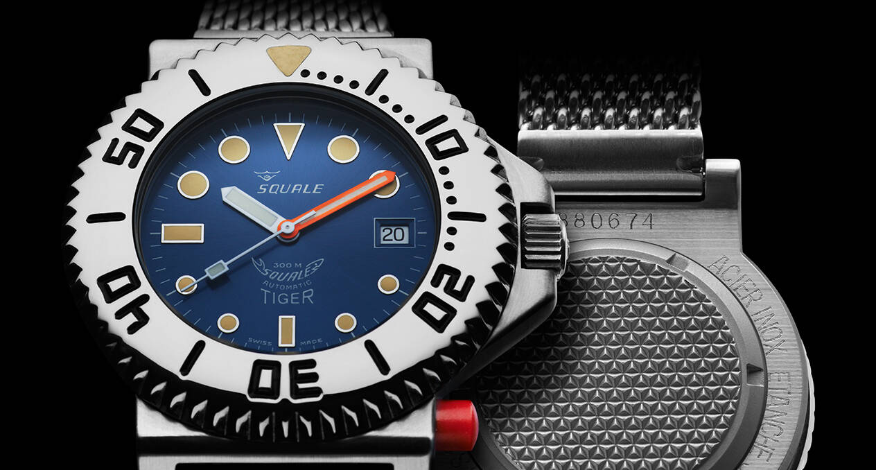 Squale Tiger Dive Watch