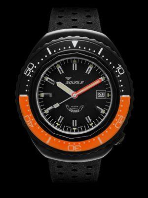 Squale 101 atmos 2002 - Orange/Black Black PVD
