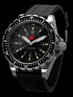 Marathon JSAR Search and Rescue Dive Watch - Red Maple