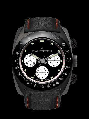 Ralf Tech WRV Black Tachymètre Inverse Panda Chronograph Watch