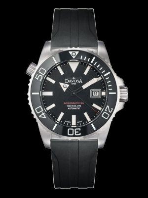 Davosa Argonautic Black Rubber Dive Watch