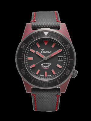 Squale T-183 Carbon - Red