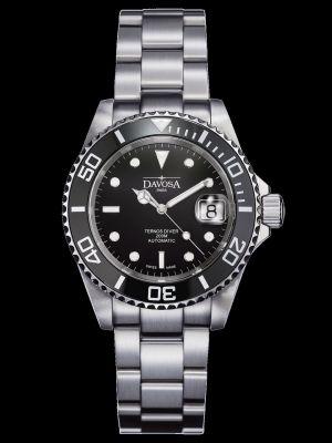 Davosa Ternos Ceramic Black Trialink Dive Watch