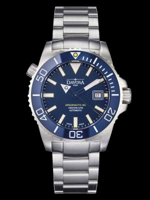 Davosa Argonautic Blue Trialink Dive Watch