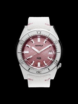 Squale 50 atmos 1521 Onda Pink Dive Watch