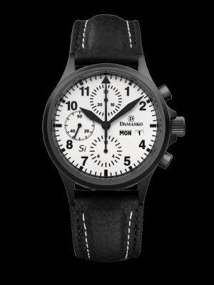 Damasko DC57 Si Black Chronograph Pilot Watch
