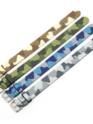 Marathon 20mm Rubber Camouflage Strap