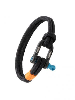 MBRC Double Rope Bottle Bracelet - Black