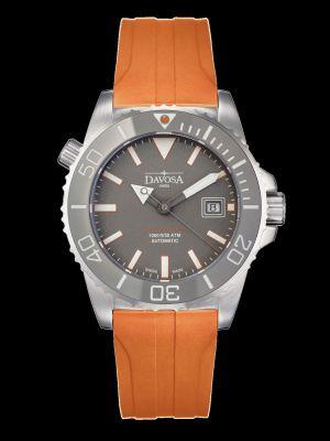 Davosa Argonautic Grey Rubber Dive Watch