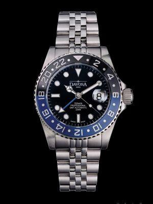 Davosa Ternos Professional GMT TT Black-Blue Dive Watch