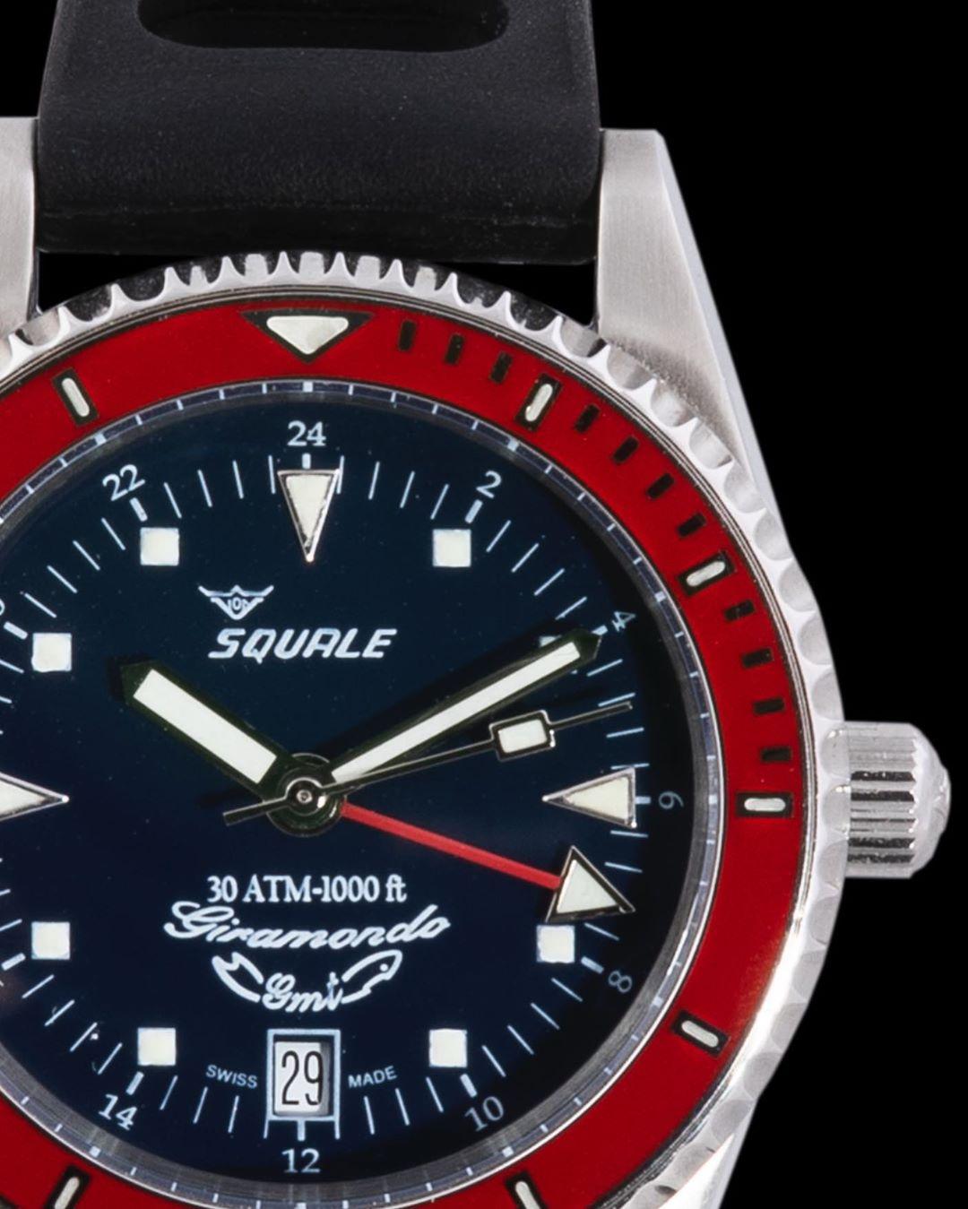 Squale Giramondo GMT Dive Watch
