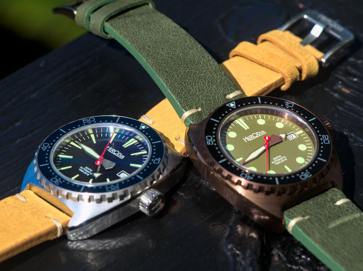 New Herodia Dive Watches
