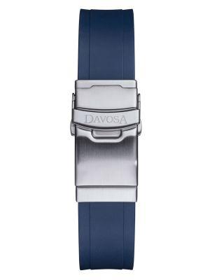 Davosa Ternos Blue Rubber Strap