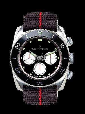 Ralf Tech WRV Barracuda Inverse Panda Chronograph Dive Watch