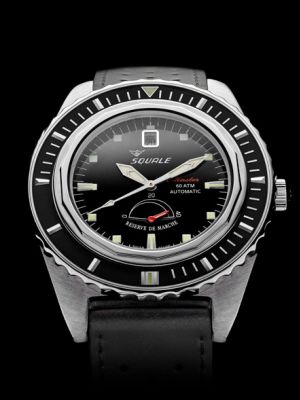 Squale Master Professional - Black