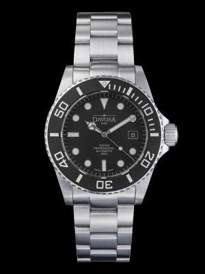 Davosa Ternos Professional Matt Suit Black Dive Watch