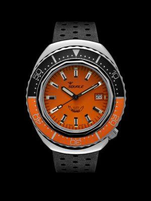 Squale 101 atmos 2002 - Orange/Black Orange Polished