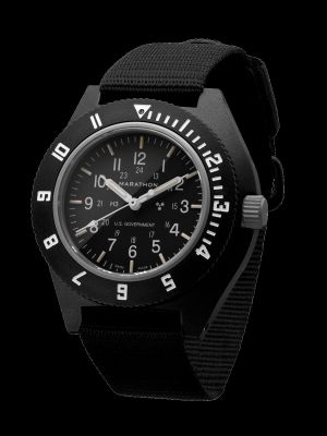 Marathon Pilot Navigator Watch - Black