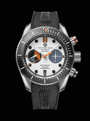Crafter Blue Hyperion Ocean Chronograph Dive Watch - White