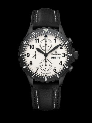 Damasko DC67 Black Chronograph Pilot Watch