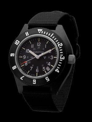 Marathon Pilot Navigator Watch with Date - Black NGM