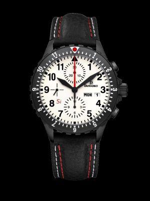 Damasko DC67 Si Black Chronograph Pilot Watch