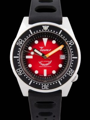 Squale 50 atmos 1521 Red Passion Polished