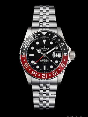 Davosa Ternos Professional GMT TT Black-Red Dive Watch