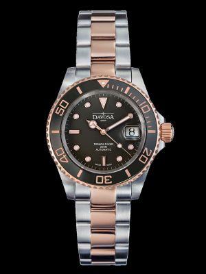 Davosa Ternos Ceramic Black Rose Dive Watch
