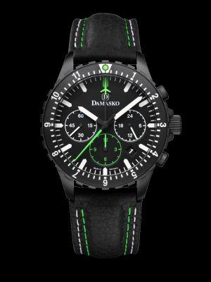 Damasko DC86 Green Black Chronograph Pilot Watch