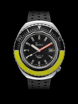 Squale 101 atmos 2002 - Yellow/Black Polished