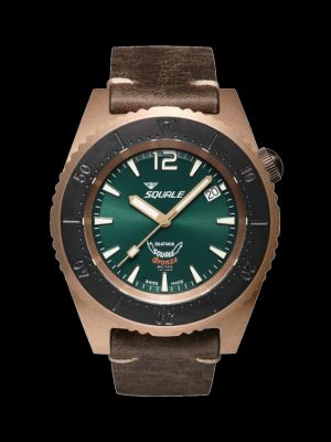 Squale 50 atmos 1521 Green Bronze
