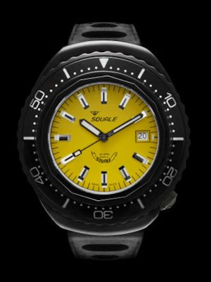 "Squale 101 atmos ""Hornet"" 2002 - Yellow Black PVD"