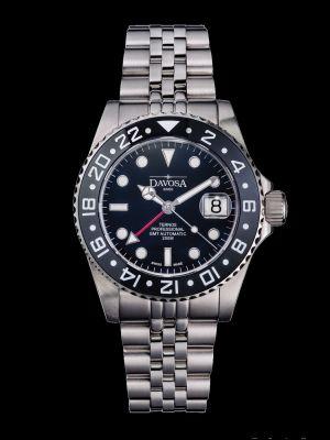 Davosa Ternos Professional GMT Black Dive Watch