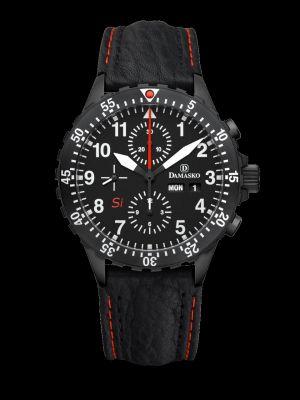 Damasko DC66 Si Black Chronograph Pilot Watch