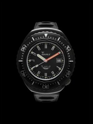 Squale 101 atmos 2002 Professional Dive Watch - Black PVD