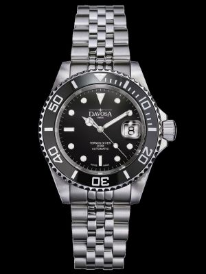 Davosa Ternos Ceramic Black Dive Watch