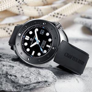 Crafter Blue Hyperion Ocean 600m Dive Watch