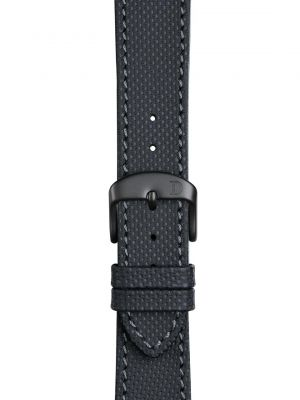 Damasko Louis Leather Strap - Black Buckle