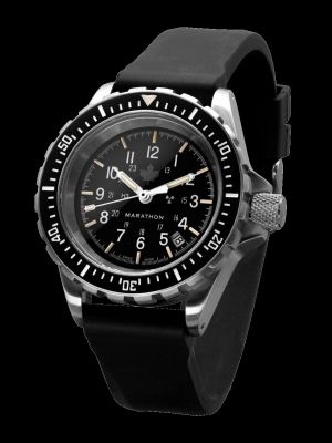 Marathon GSAR Search and Rescue Dive Watch - Grey Maple