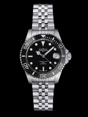 Davosa Ternos Medium Black Dive Watch